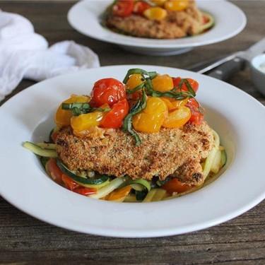 "Chicken Cutlets and Zucchini ""Pasta"" Recipe   SideChef"