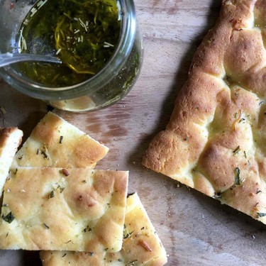 Low Carb Focaccia with Dipping Sauce Recipe   SideChef