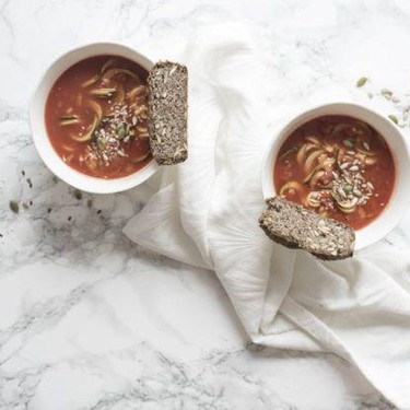 Tomato Zoodles Soup Recipe | SideChef