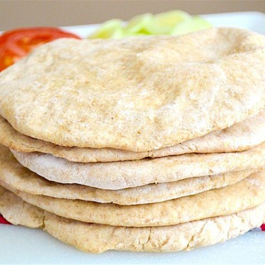 Whole Wheat Pita Bread Recipe | SideChef