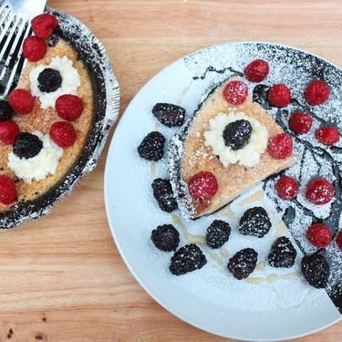 Oreo and Yogurt Pie with Honey & Fresh Berries Recipe | SideChef
