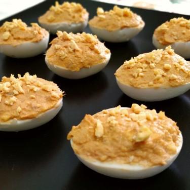 Tuna Deviled Eggs Recipe   SideChef