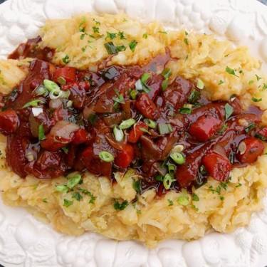 Malbec-Braised Pork Belly With Napa Potatoes Recipe | SideChef