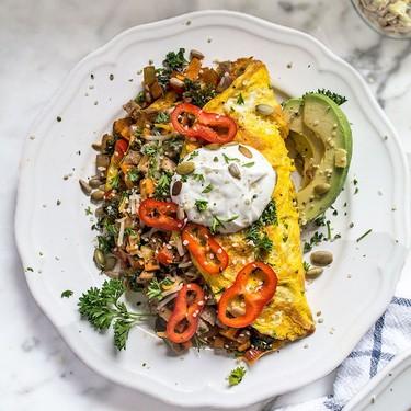 Southwest Veggie Omelet Recipe | SideChef