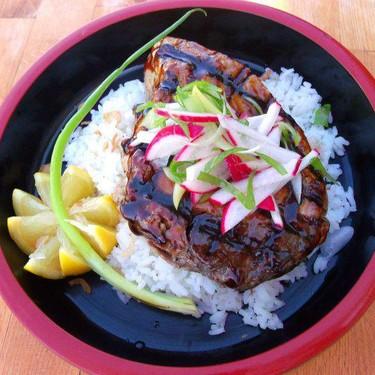 Old Fashioned Hoisin-Glazed Grilled Tuna Steak Recipe | SideChef