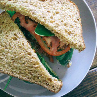 Basil Pesto Chickpea Sandwiches Recipe   SideChef
