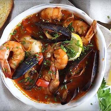 San Francisco Style Seafood Cioppino Recipe   SideChef