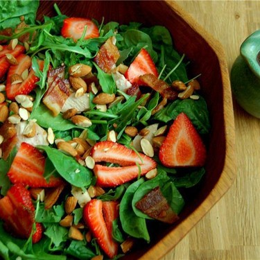 Strawberry Balsamic Chicken Salad Recipe | SideChef