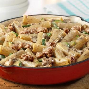 Speedy Sausage Rigatoni Recipe   SideChef