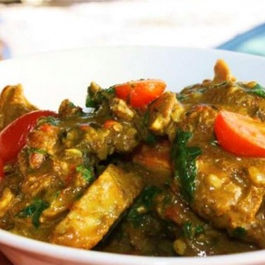 Lamb Chops Braised in Coconut Curry Sauce Recipe   SideChef