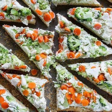 Veggie Pizza Appetizer Recipe   SideChef