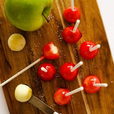 Candy Apple Lollipops Recipe   SideChef