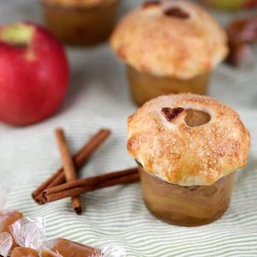 Mini Salted Caramel Apple Pie Jars Recipe   SideChef