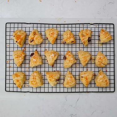Cranberry Orange Cream Scones Recipe   SideChef