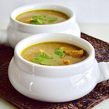 Hearty Middle Eastern Chicken Soup Recipe | SideChef