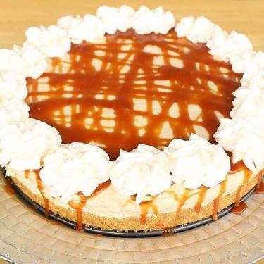 No Bake Salted Caramel Cheesecake Recipe   SideChef