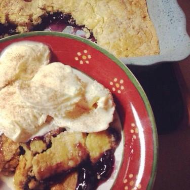 Blueberry Cinnamon Dump Cake Recipe | SideChef