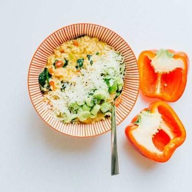 Pepper and Gorgonzola Risotto Recipe | SideChef