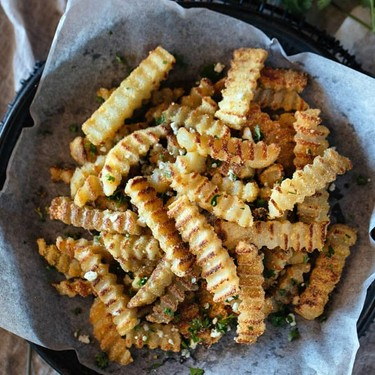 Oven-Baked Crispy Truffled Fries Recipe | SideChef