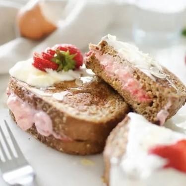 Strawberry Cheesecake Stuffed French Toast Recipe | SideChef