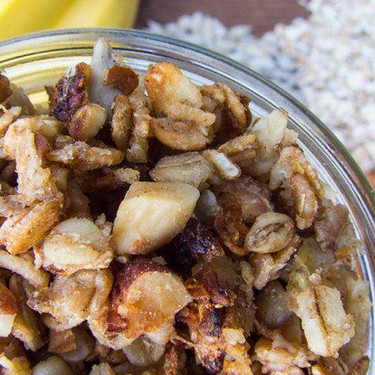 Homemade Banana  Almond Granola Recipe | SideChef