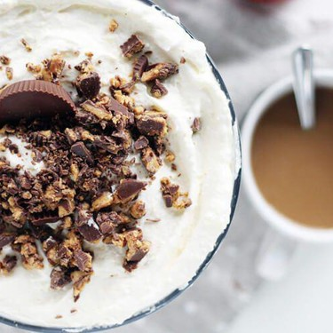 Peanut Butter Cup Punch Bowl Cake Recipe   SideChef