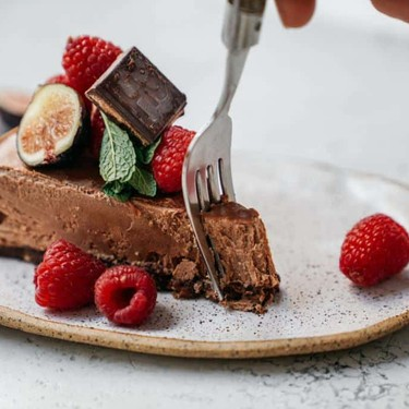 Vegan Cashew Chocolate Mousse Cake Recipe | SideChef