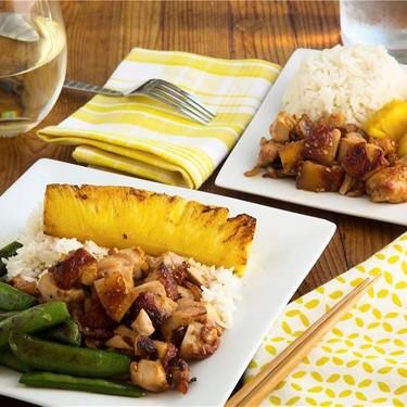 Chicken Teriyaki with Snap Peas and Pineapple Recipe   SideChef