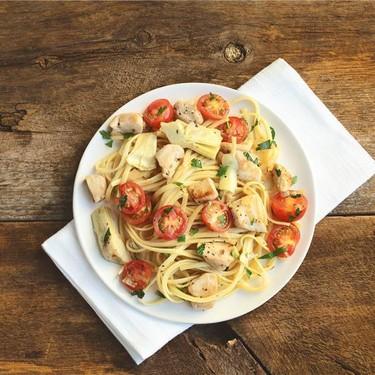 Greek Chicken Pasta Recipe | SideChef