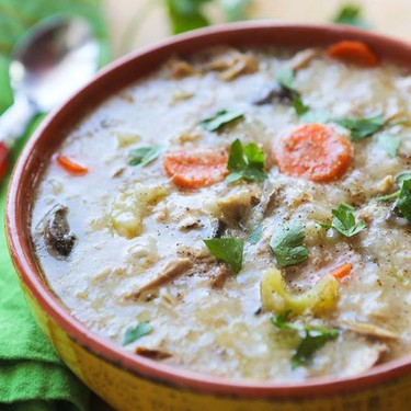 Slow Cooker Turkey Rice with Soup Recipe | SideChef