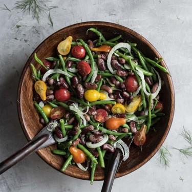 Heirloom Cattle Bean Summer Salad Recipe   SideChef