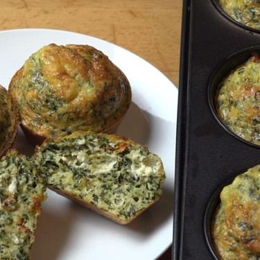 Spinach and Feta Mini Frittatas Recipe   SideChef