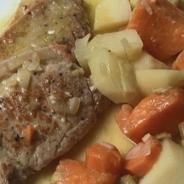 Slow Cooked Smothered Pork Chops Recipe   SideChef