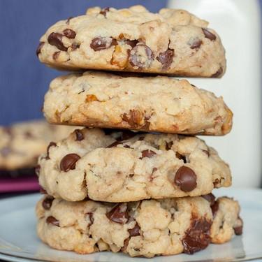 Vegan Salted Chocolate Chip & Walnut Cookies Recipe | SideChef