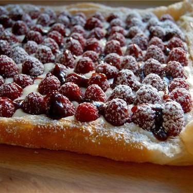 Meyer Lemon Raspberry Tart Recipe   SideChef