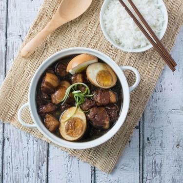 Soy Sauce Braised Pork Belly (Tau Eu Bak) Recipe   SideChef