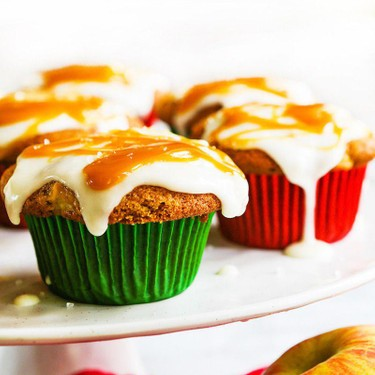 Salted Caramel Apple Cupcakes Recipe   SideChef