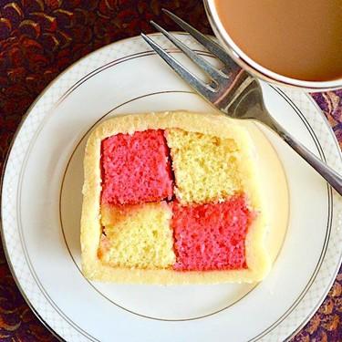 Lemon Rose Battenberg Cake Recipe   SideChef
