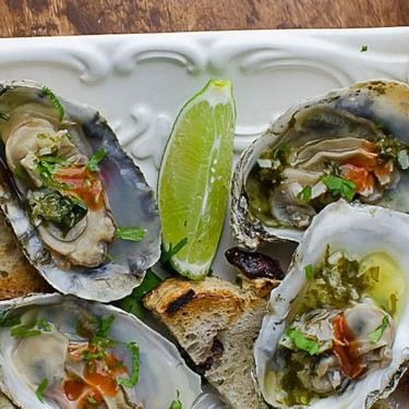 Citrusy Grilled Oysters Recipe | SideChef