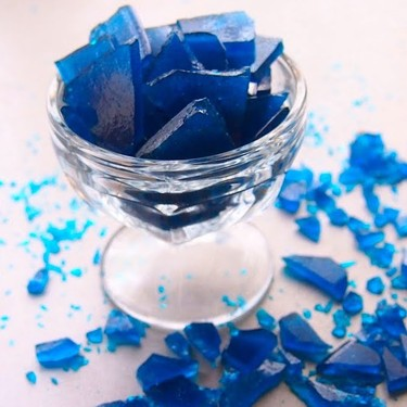 Easy Blue Glass Candy Recipe | SideChef