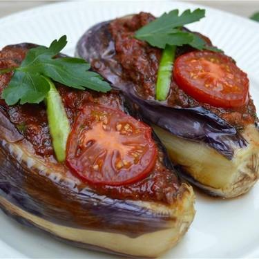 "Turkish ""Split Belly"" Eggplants Recipe   SideChef"