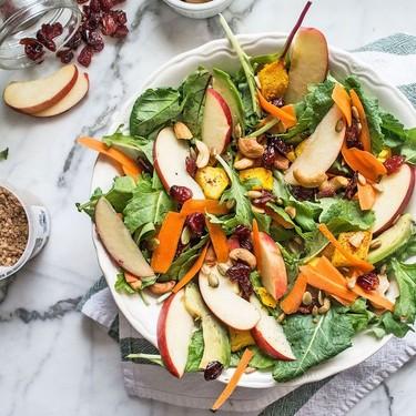 Vegan Butternut Squash and Cashew Salad Recipe | SideChef
