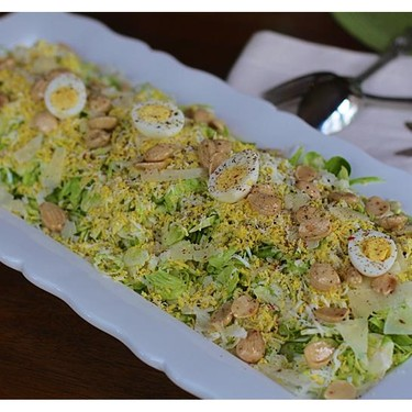 Shaved Brussel Sprout Salad Recipe | SideChef