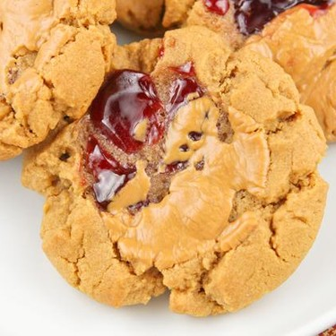 Peanut Butter and Jelly Cookies Recipe | SideChef