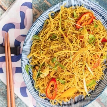 Vegan Singapore Noodles Recipe | SideChef