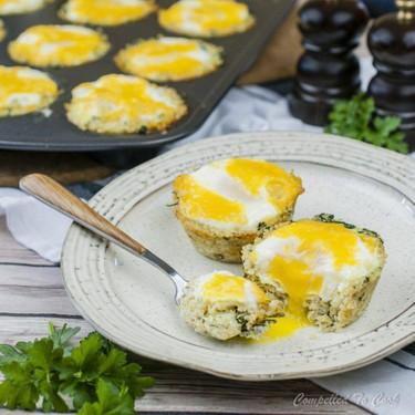 Quinoa Spinach Egg Cups Recipe | SideChef