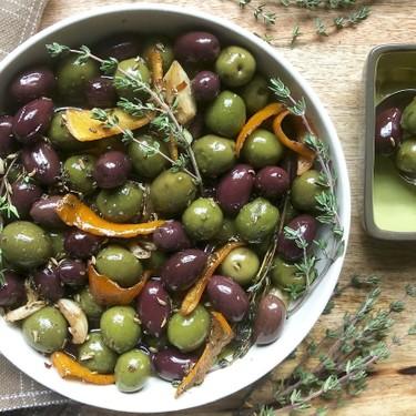 Ina Garten's Warm Marinated Olives Recipe   SideChef