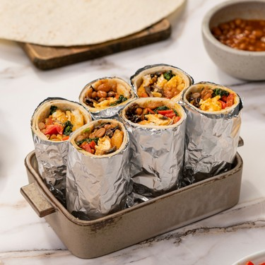 Vegetarian Breakfast Burrito Recipe | SideChef