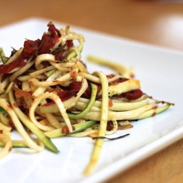 Roasted Rosemary Tomato Zucchini Pasta Recipe   SideChef