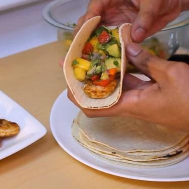 Shrimp Tacos with Mango Salsa Recipe   SideChef